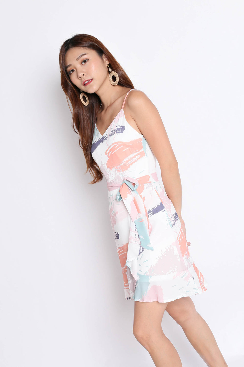 *TPZ* (PREMIUM) NICIA DRESS IN ABSTRACT (V1)