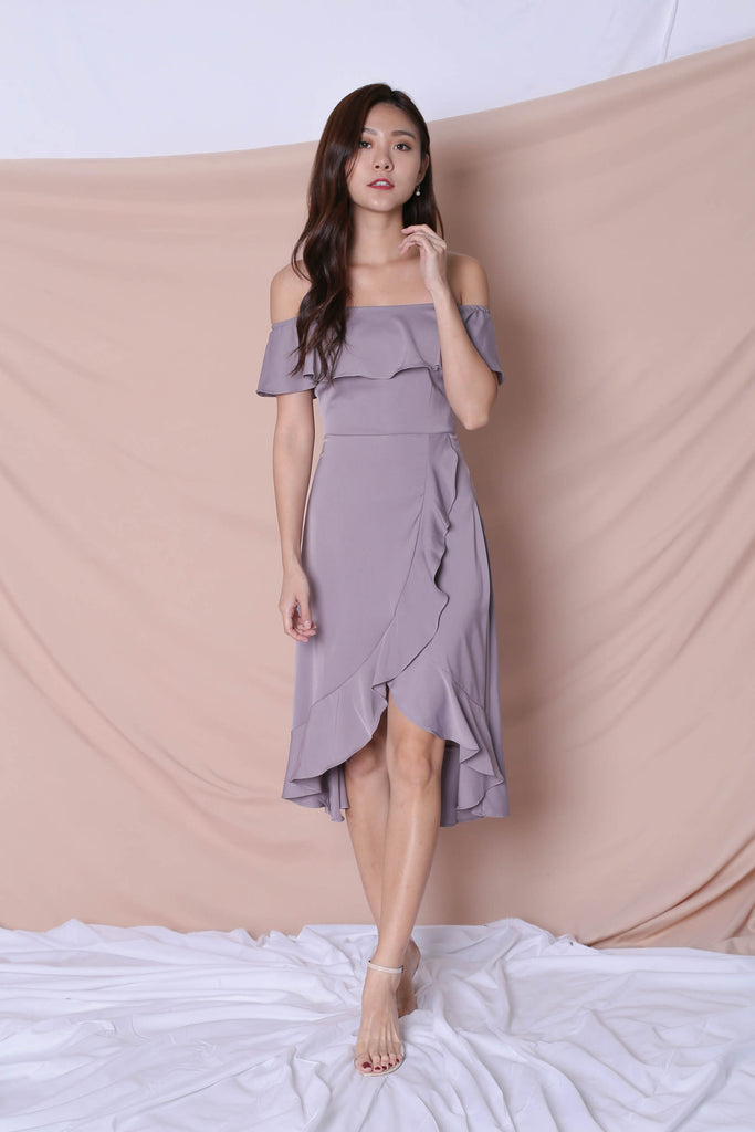 *TPZ* (PREMIUM) HEBE DRESS IN DUSTY LAVENDER