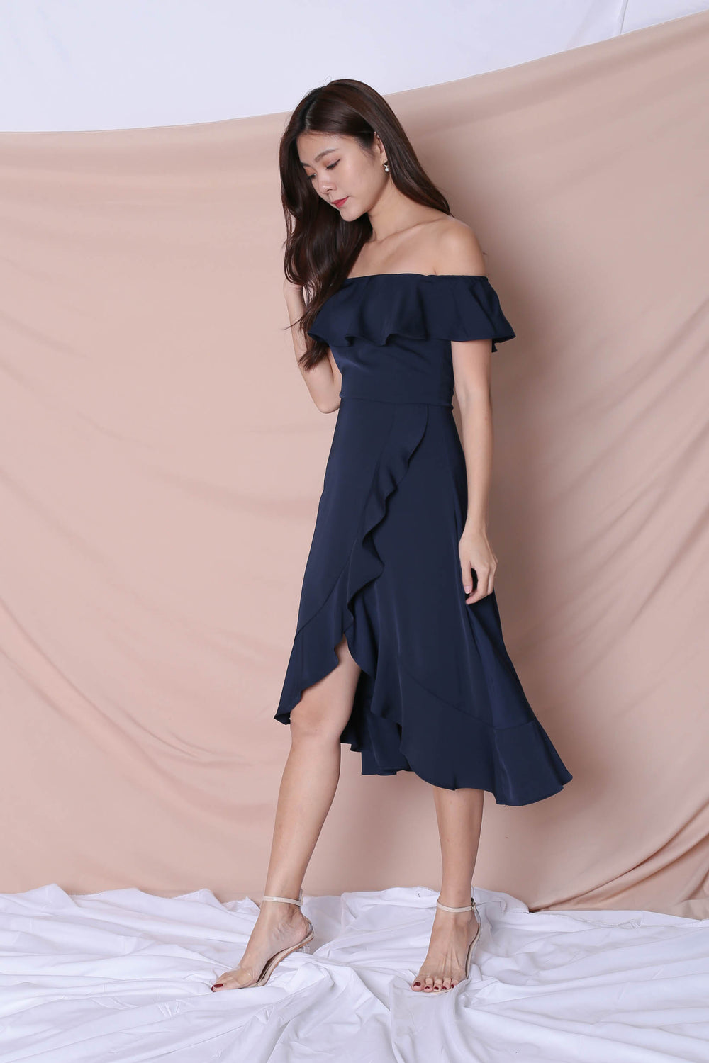 *TPZ* (PREMIUM) HEBE DRESS IN NAVY