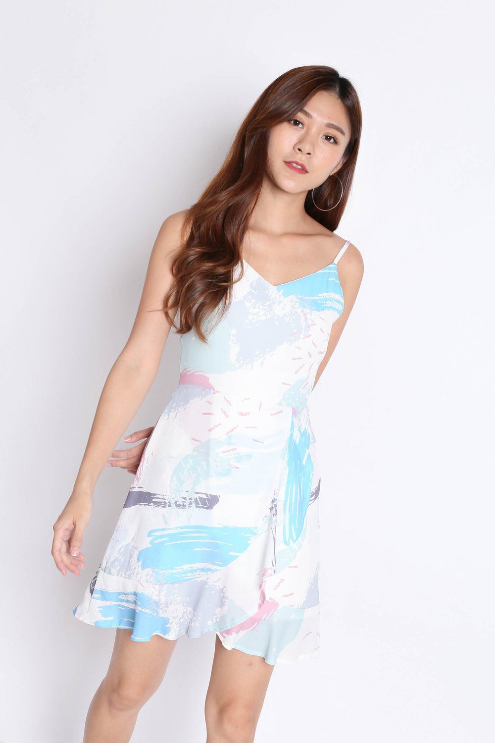 *TPZ* (PREMIUM) NICIA DRESS IN ABSTRACT (V2)