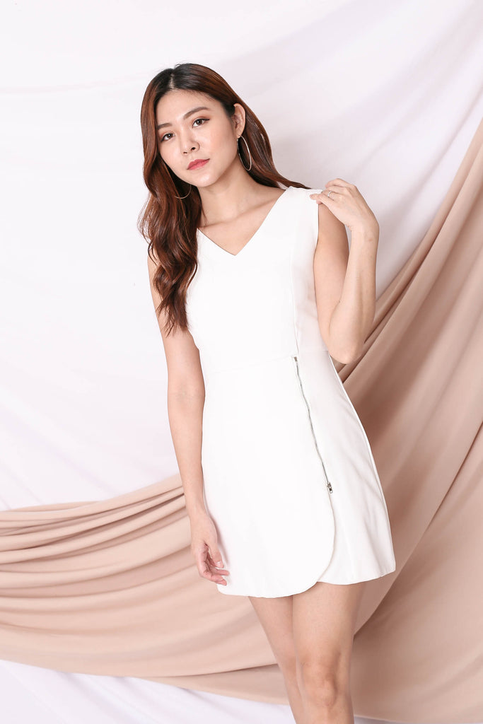 *TPZ* (PREMIUM) ARIA DRESS IN WHITE