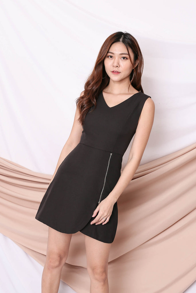 *TPZ* (PREMIUM) ARIA DRESS IN BLACK