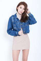 ALL NEW DENIM JACKET - TOPAZETTE