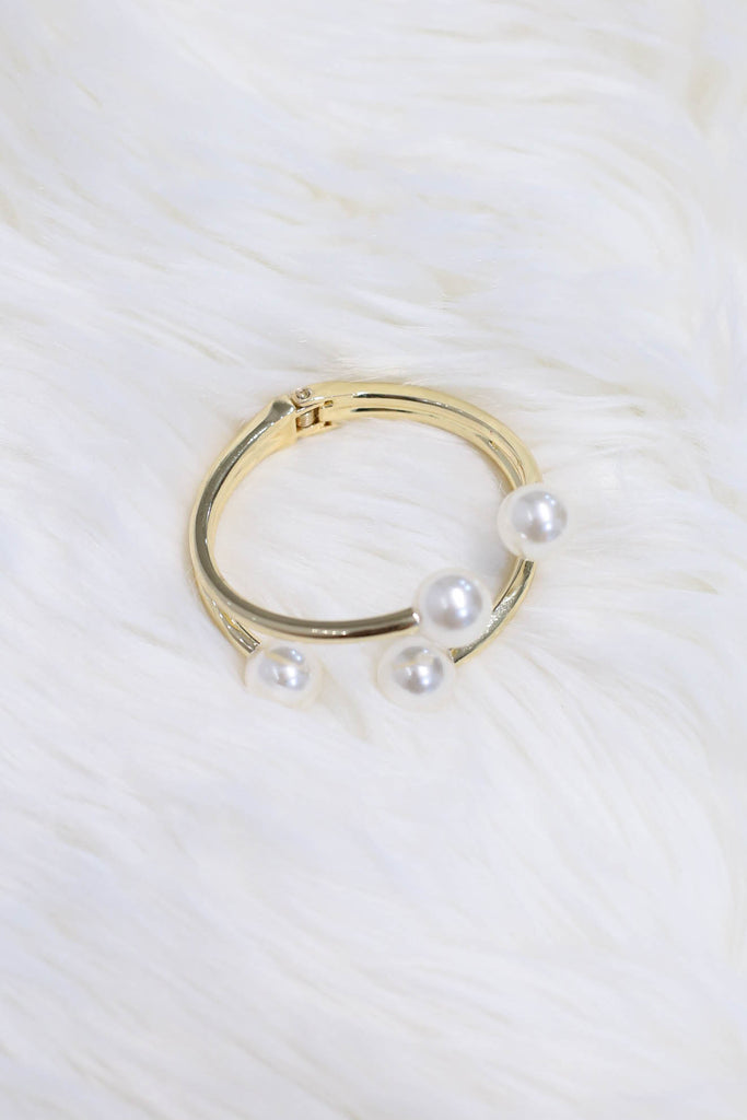 PEARL CUFF BANGLE (V3) - TOPAZETTE