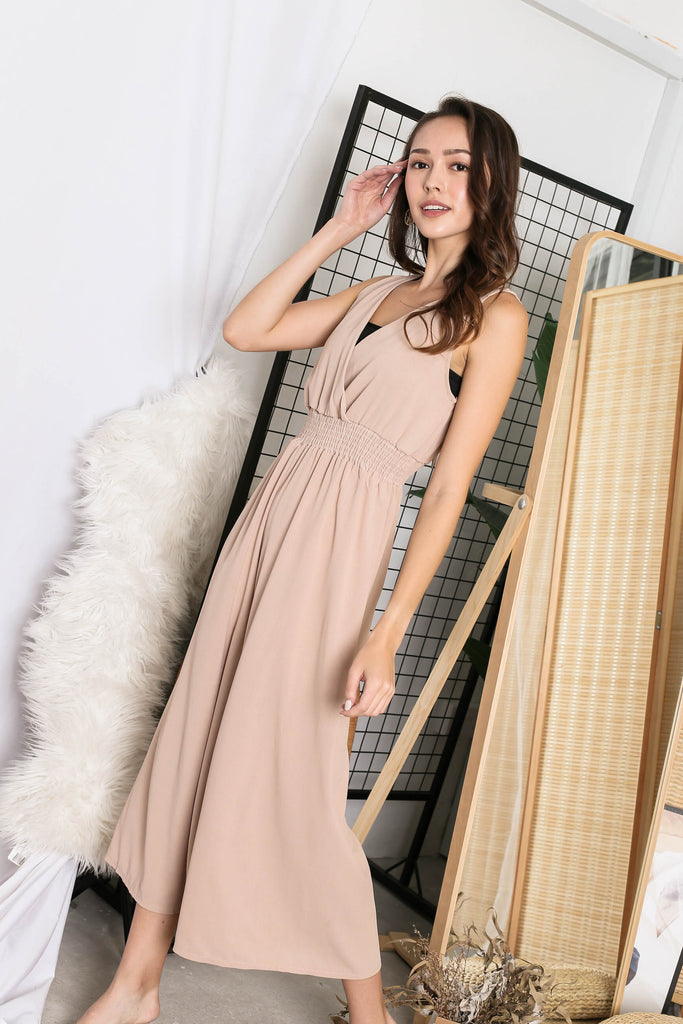 ESTELLE SAND JUMPSUIT