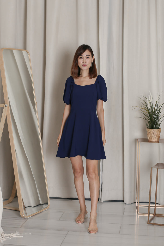 *TPZ* ALIS DRESS ROMPER IN MIDNIGHT BLUE