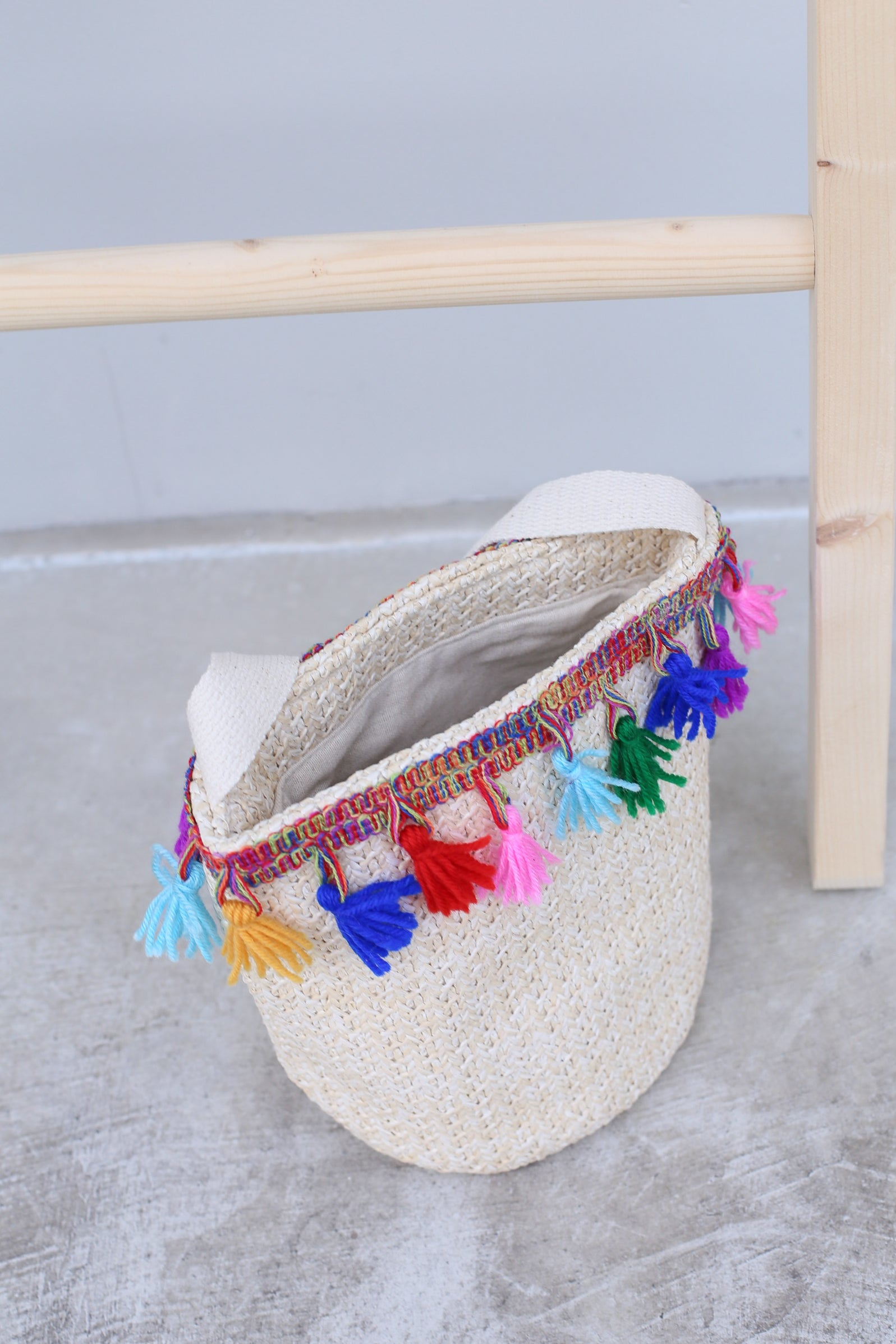 CASUAL STRAW WOVEN BAG