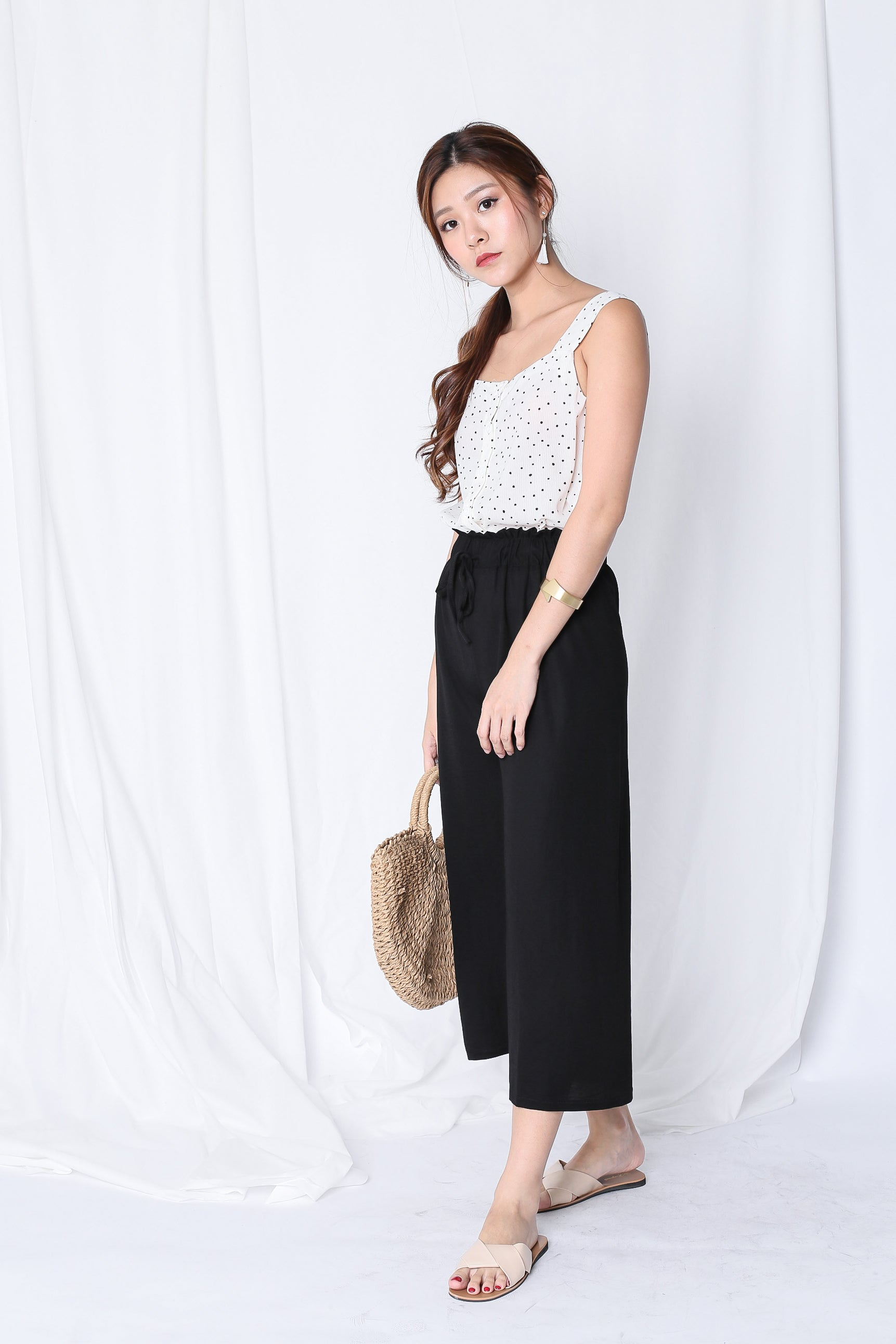 *RESTOCKED* OH SO COMFY LOUNGE CULOTTES IN BLACK