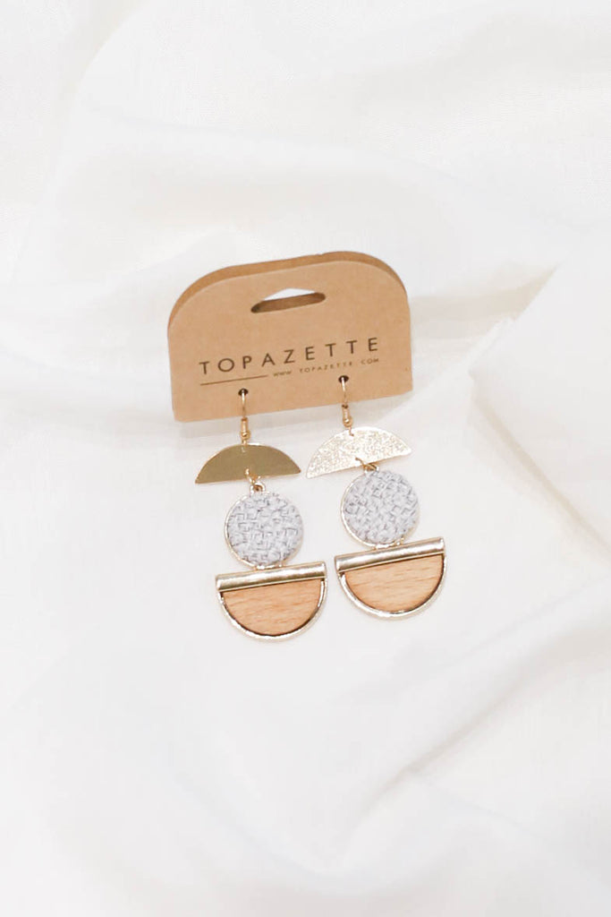 KAI EARRINGS - TOPAZETTE