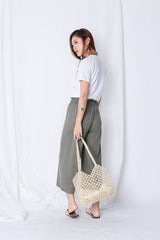 *RESTOCKED* OH SO COMFY LOUNGE CULOTTES IN OLIVE GREEN