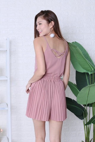 05bc7c44560 PLEATED DREAMS 2 PC SET IN DUSTY PINK
