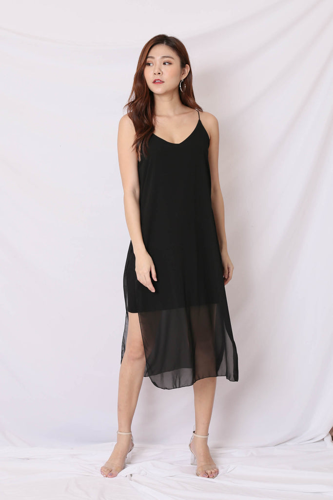 *BACKORDER* GEN BASIC DRESS IN BLACK