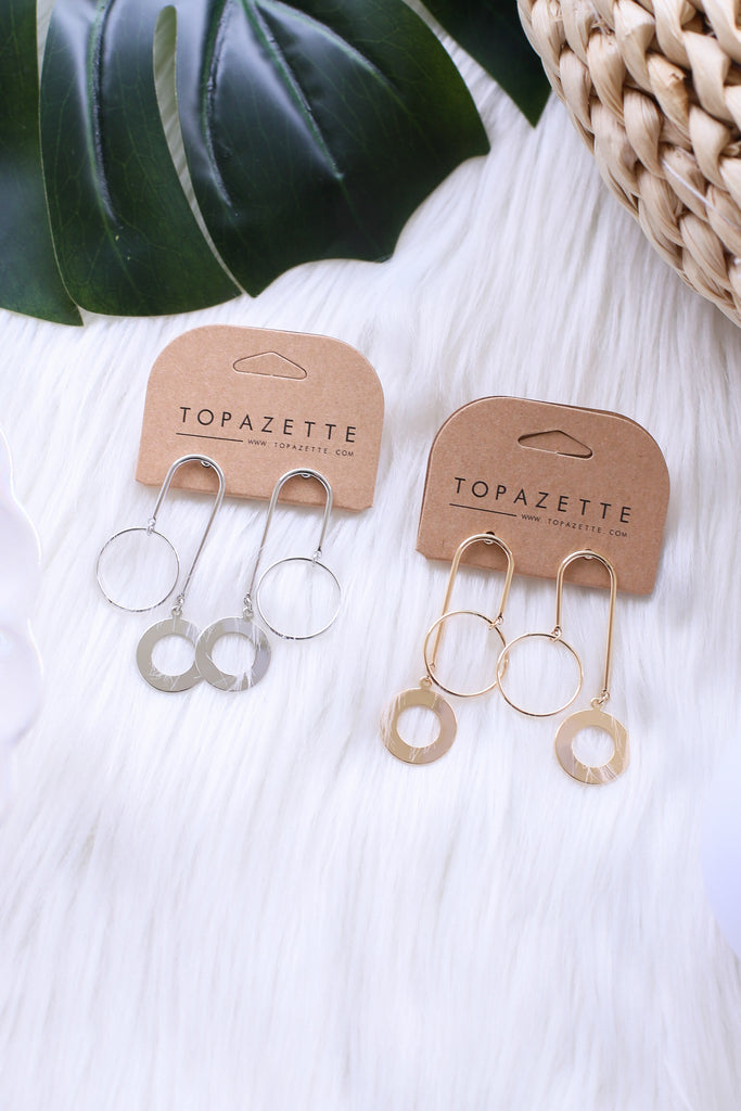 AYVEN EARRINGS - TOPAZETTE