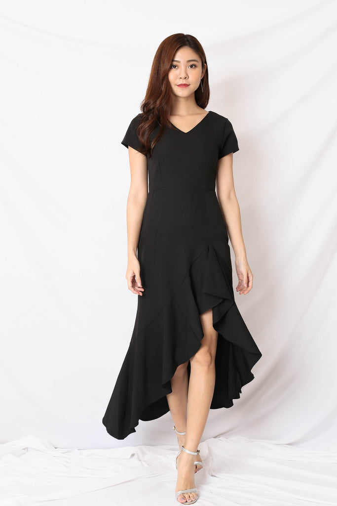 *TPZ* (PREMIUM) SHAYLI DRESS IN BLACK