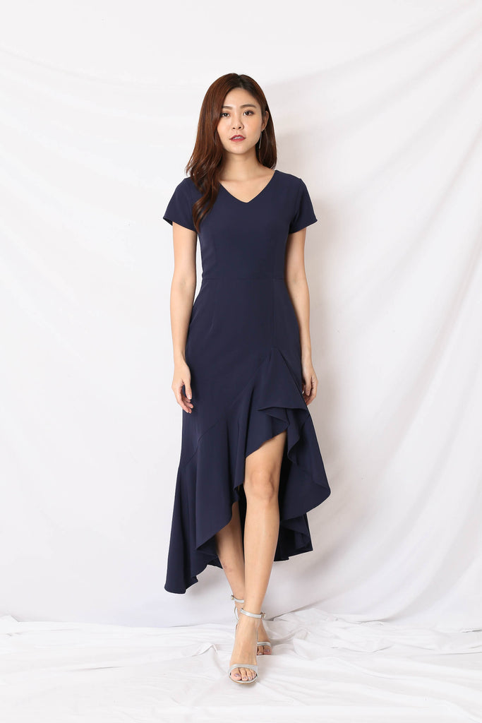 *TPZ* (PREMIUM) SHAYLI DRESS IN NAVY