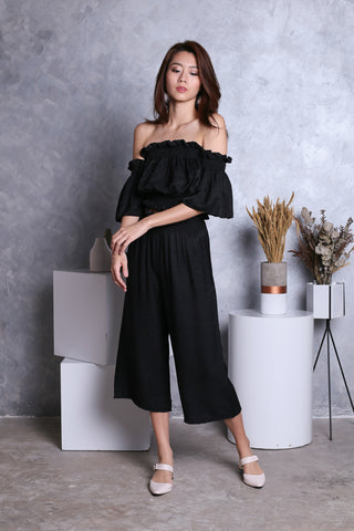 FLAUNCE 2 PC SET IN BLACK