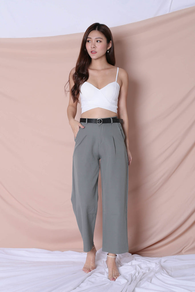 LEXI PANTS IN SAGE GREEN
