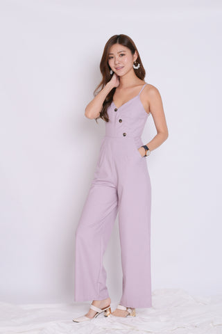 (PREMIUM) ZYAN JUMPSUIT IN DUSTY LILAC/PINK