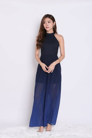 76aa417e9983  TPZ  (PREMIUM) ENCHANTEUR OMBRE JUMPSUIT (NAVY  MIDNIGHT BLUE)