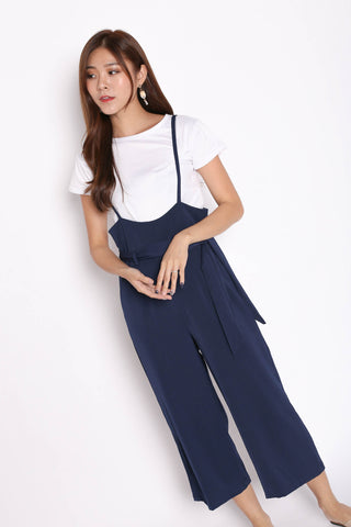 DENIZ DUNGAREE SET IN NAVY