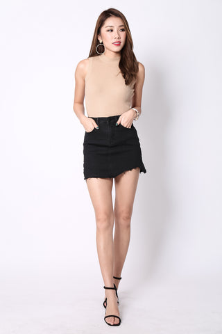 (RESTOCKED) NASTY ASY RIPPED SKORTS - TOPAZETTE