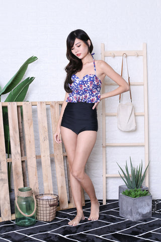 *RESTOCKED* AVALON PEPLUM HIGH WAIST BIKINI SET (G)