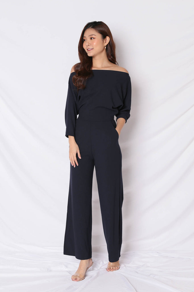*TPZ* (PREMIUM) BREN MULTI WAY JUMPSUIT IN DEEP NAVY