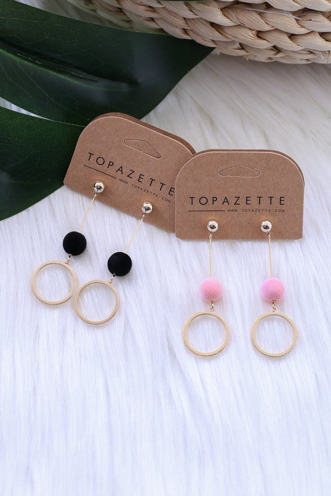 EYDIS EARRINGS - TOPAZETTE