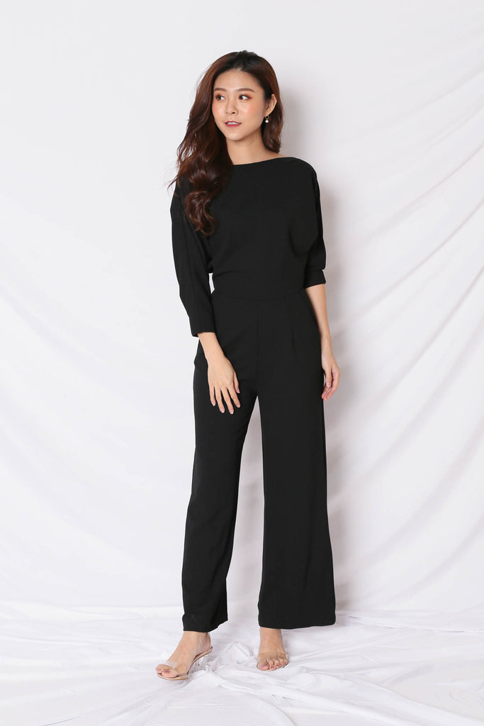*TPZ* (PREMIUM) BREN MULTI WAY JUMPSUIT IN BLACK