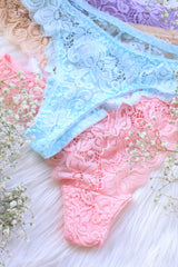 CLASSIC LACE THONGS