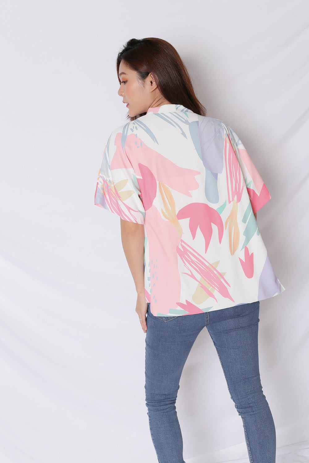 *TPZ* (PREMIUM) VINN ABSTRACT KIMONO JACKET (VERSION 1)
