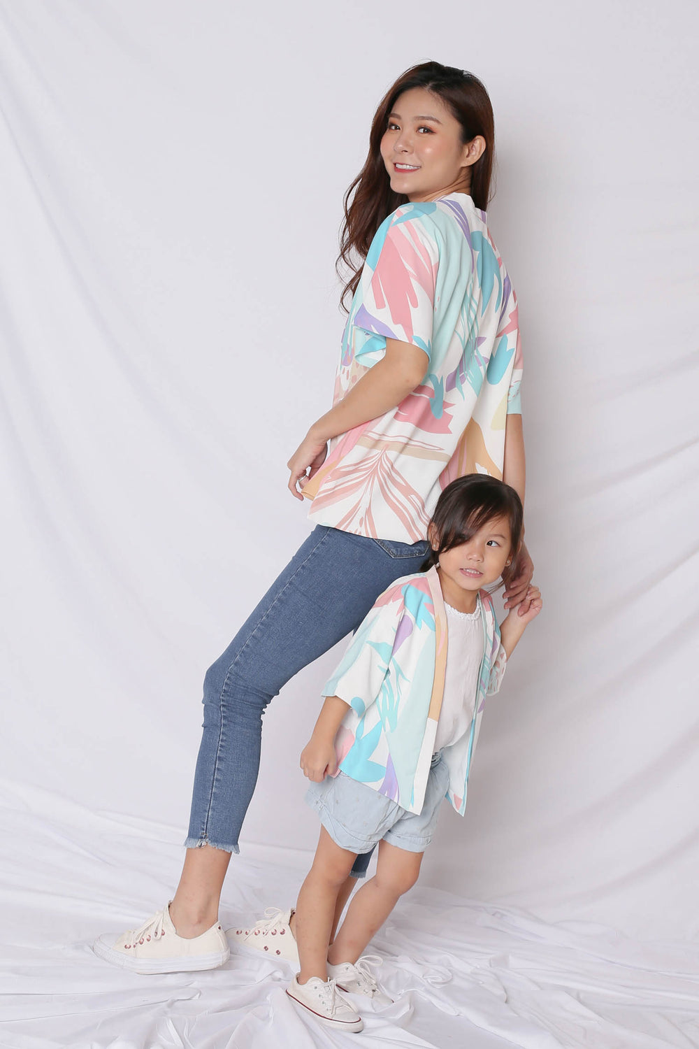 *TPZ* (PREMIUM) VINN ABSTRACT KIMONO JACKET (VERSION 2)
