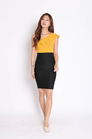 CLASSIC BODYCON SKIRT IN BLACK