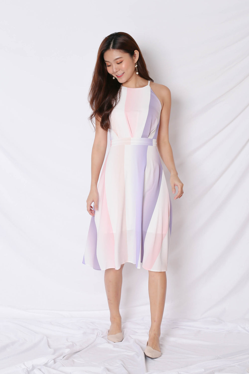 *TPZ* (PREMIUM) TILLIA WHIMSICAL MIDI DRESS (VERSION 1)