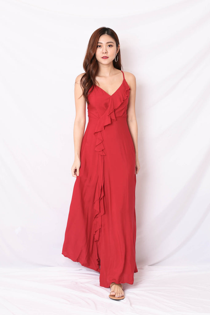 RYRA MAXI IN RED