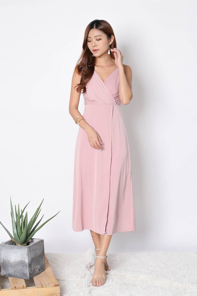 *TPZ* (PREMIUM) SHAYNA MAXI IN DUSTY PINK