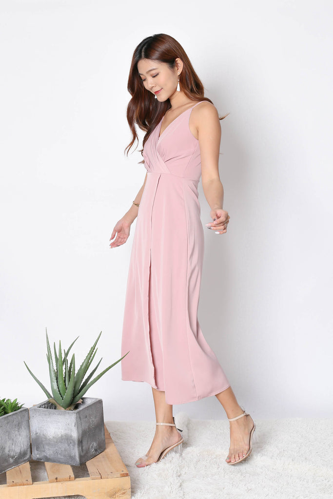 *TPZ* (PREMIUM) SHAYNA MAXI IN DUSTY PINK - TOPAZETTE