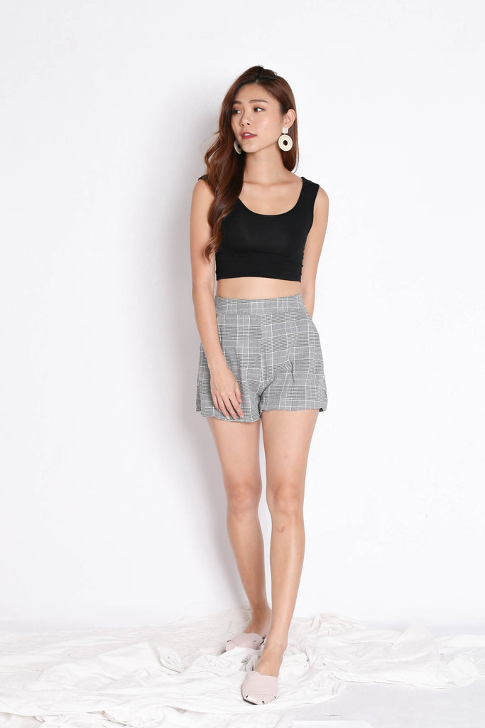 STELLIZ BLAZER AND SHORTS SET IN GINGHAM - TOPAZETTE