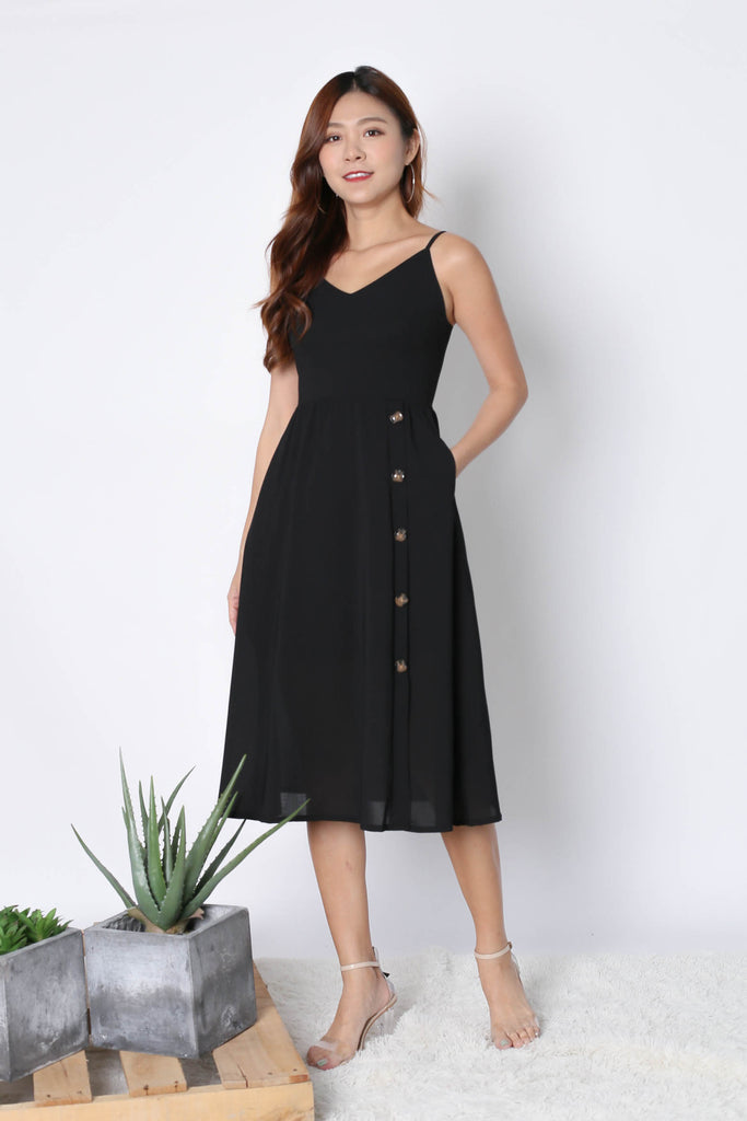 *TPZ* (PREMIUM) CLAUDIA DRESS IN BLACK