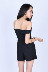 *PREMIUM* AMIE TUBE ROMPER IN BLACK