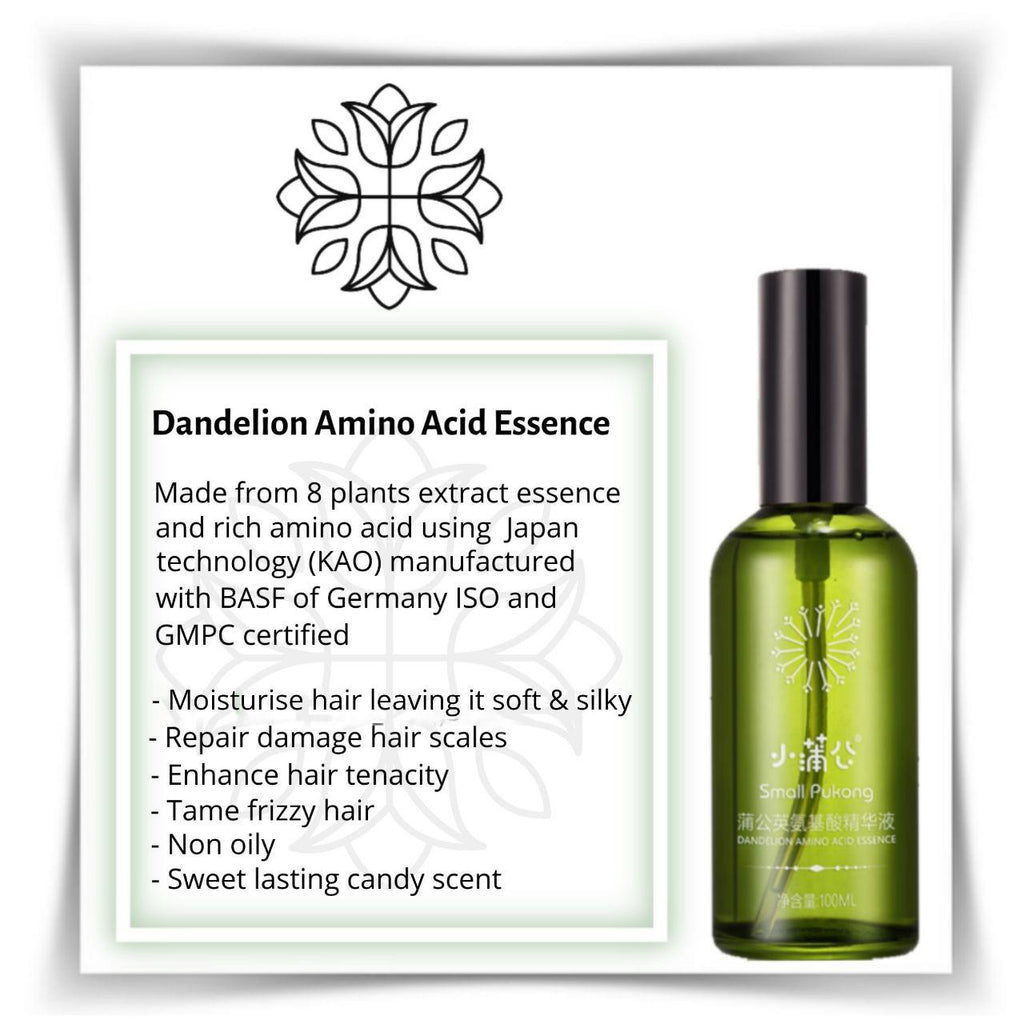 DANDELION AMINO ACID ESSENCE (HAIR OIL) - TOPAZETTE