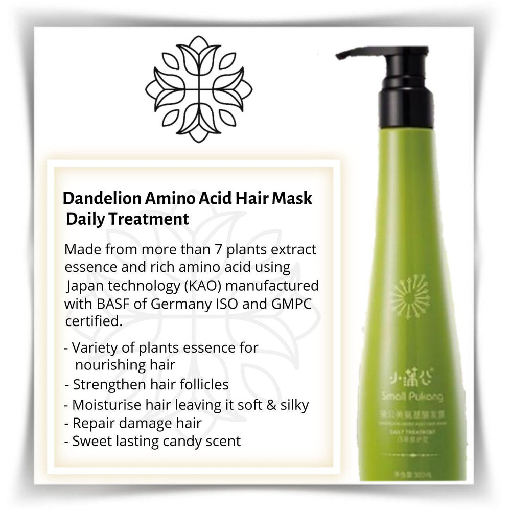 DANDELION AMINO ACID HAIR MASK DAILY TREATMENT