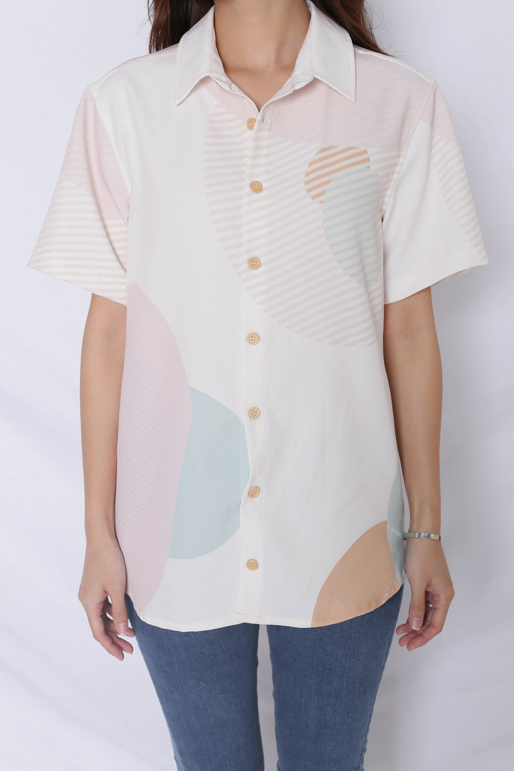 (PREMIUM) THE GEOMETRIC COLLECTION UNISEX SHIRT (VERSION 1) EARTH