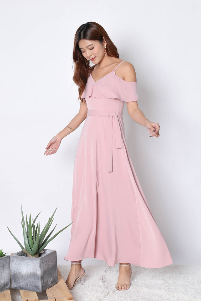 *TPZ* (PREMIUM) MAIZIE MAXI DRESS IN PINK - TOPAZETTE