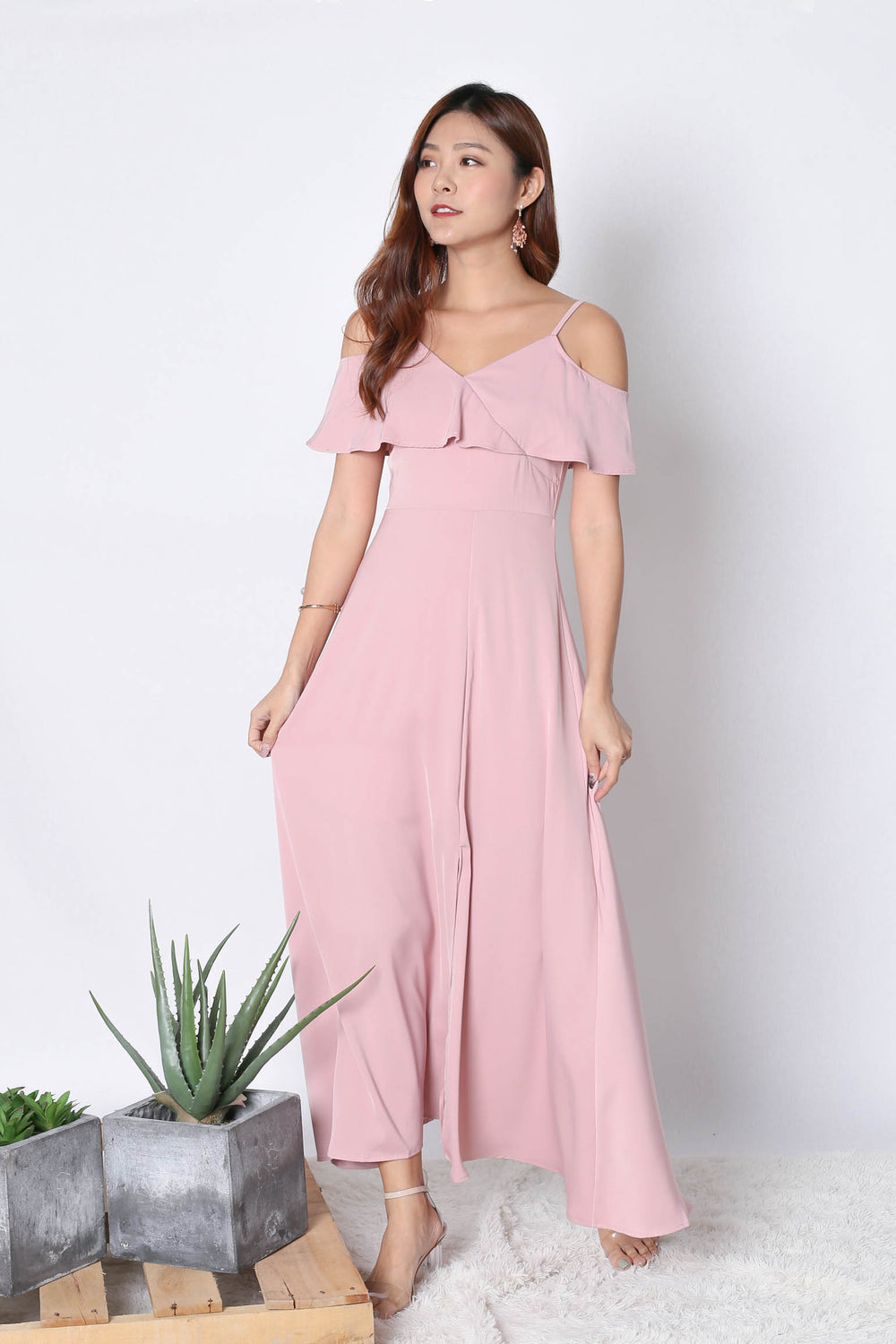*TPZ* (PREMIUM) MAIZIE MAXI DRESS IN PINK