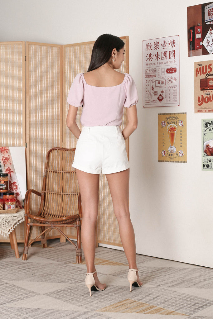 *TPZ* AGNES 2 WAY TOP IN DUSTY PINK
