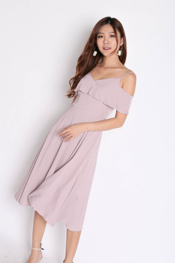 *TPZ* (PREMIUM) ISIDORA DRESS IN DUSTY PINK - TOPAZETTE