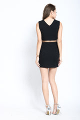 (RESTOCKED 3) XANDRA DRESS IN BLACK