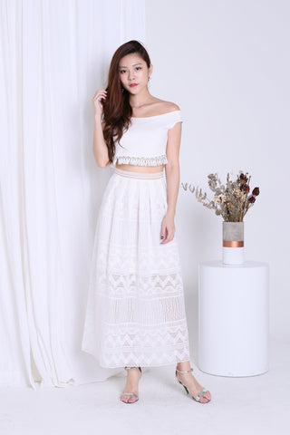 *PREMIUM* GREEK GODDESS 2PC SET IN WHITE