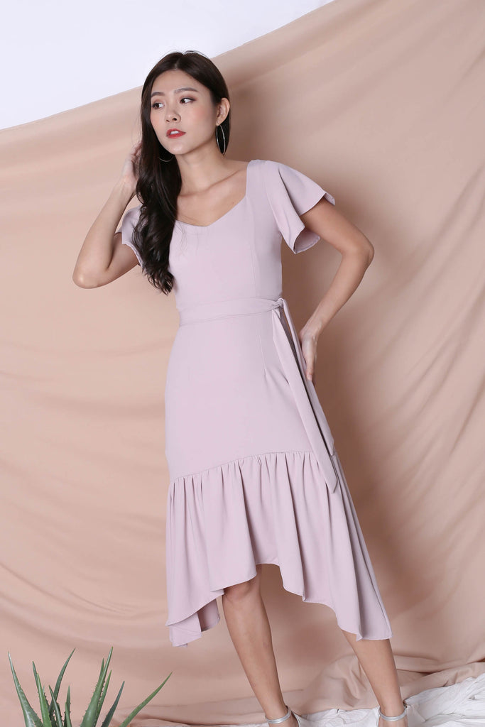 *TPZ* (PREMIUM) SARINA DRESS IN DUSTY PINK